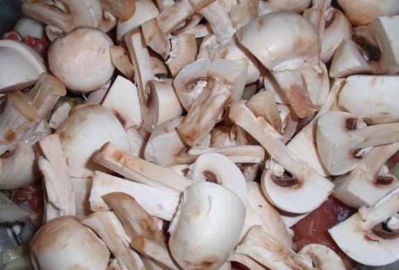 Česnekovo-zázvoroví vrabci se žampiony