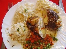 Kuřecí rolky s česnekem a sýrem