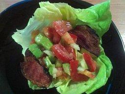 Mexický salát s avokádem