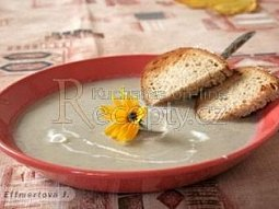 Krémová polévka z topinambur