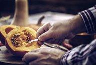 Pomazánka z husího sádla a dýně