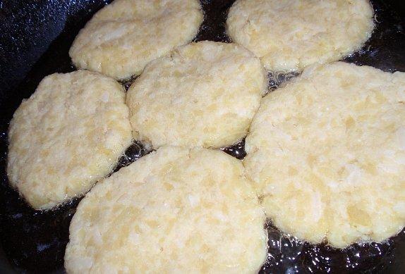 Bramborové placky se sýrem po našem