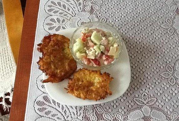 Bramborové zelňáky ze syrových brambor