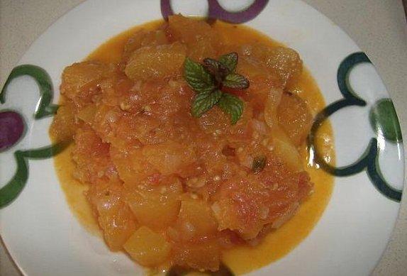 Dýňová rajčata - příloha k masu