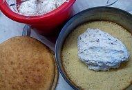 Lahodný Margot dort / řez