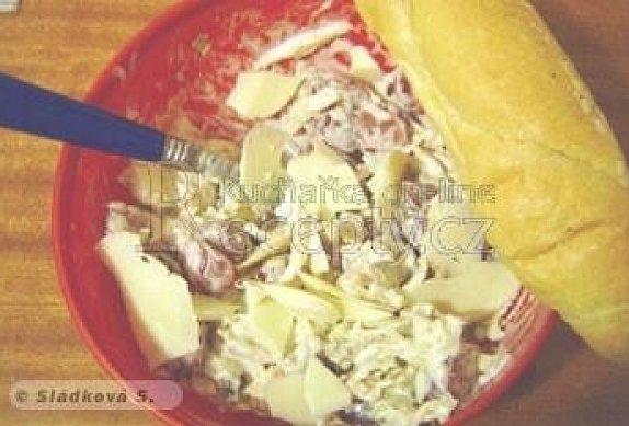 Kuřecí salát s hroznovým vínem photo-0