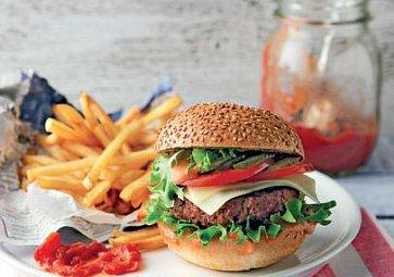 Domácí hamburger krok za krokem