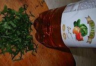 Čočková polévka s klobásou a zeleninou