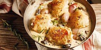 Kuře ve smetanovo-hořčičné omáčce