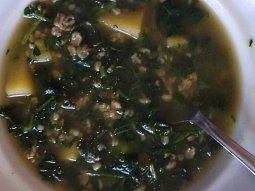 Velikonoční zelená polévka