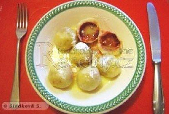 Těsto na ovocné knedlíky