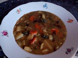 Brokolicová houbovačka - polévka