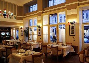 Restaurace v srdci Prahy