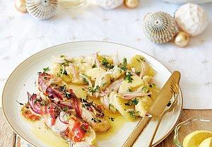 Lehký bramborový salát