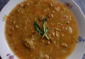Brokolicová polévka nejen s vločkami