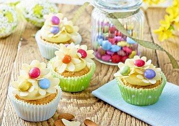 První cupcake s vůní jara!