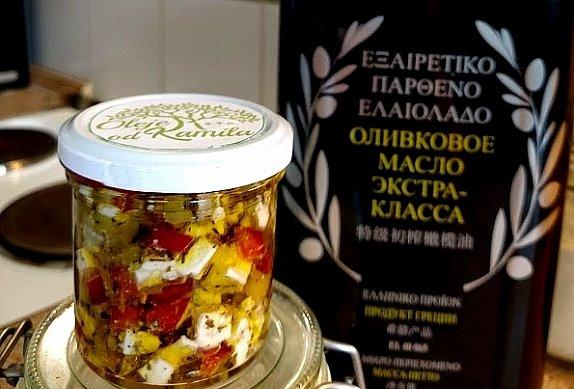 Nakládaný sýr (balkánský / feta)