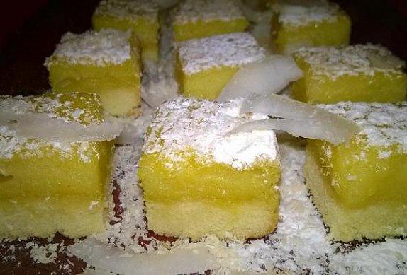 Citronovo-mangové řezy