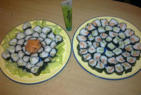 Domácí sushi photo-0