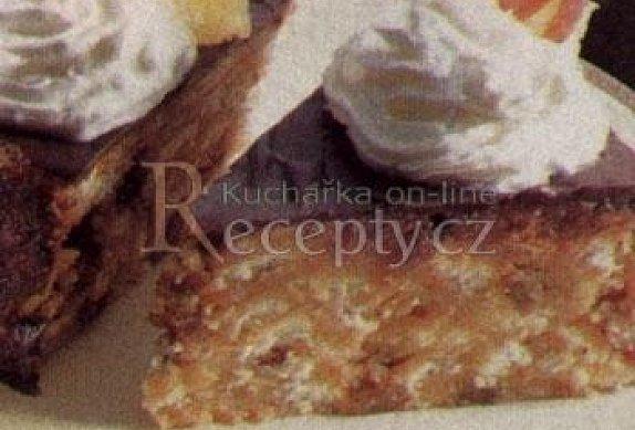 Rumový nepečený dort