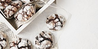 Čokoládové crinkles