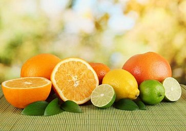 Pokrmy z citrusů plné vitamínů