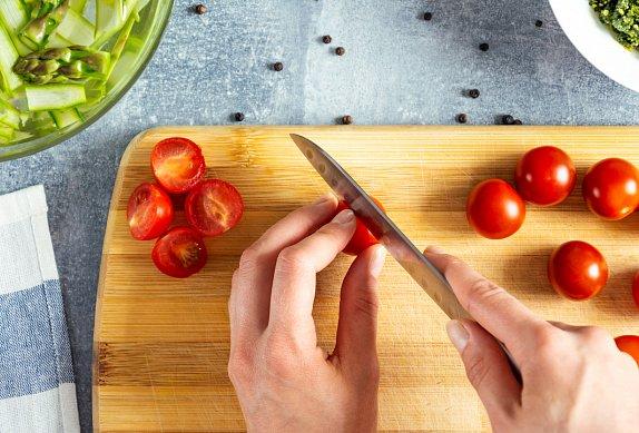 Omáčka ze spálených rajčat