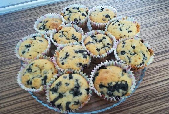 Borůvkové muffiny II.