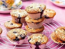 Borůvkovo-meruňkové muffiny