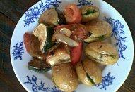 Rozpékané bylinkové brambory