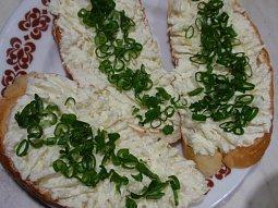 Olomoucká pomazánka s mascarpone - zdravě a chutně