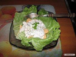 Krabí salát s melounem