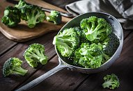 Brokolicová polévka s Nivou