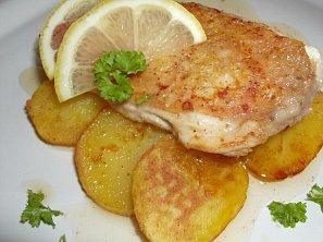 Kuřecí prsa na citronu