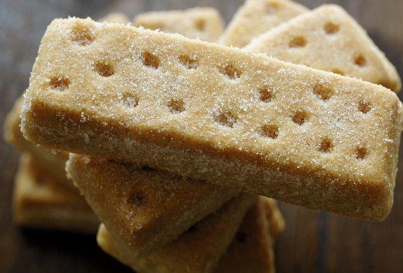 Shortbread máslové sušenky