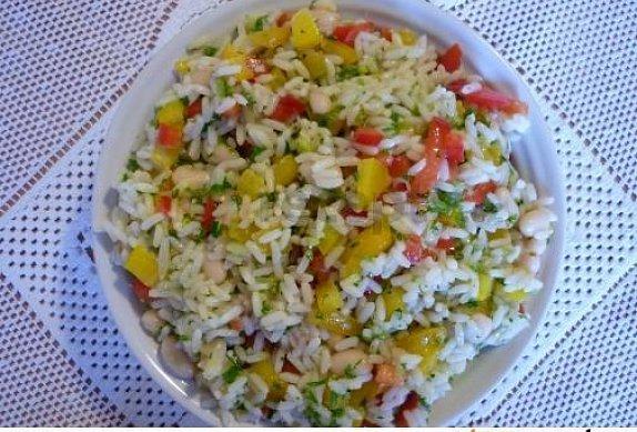 Italský rýžový salát