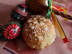 Máslové mini bochánky (mazance) - drobenkové