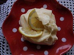 Citronový krém s tvarohem