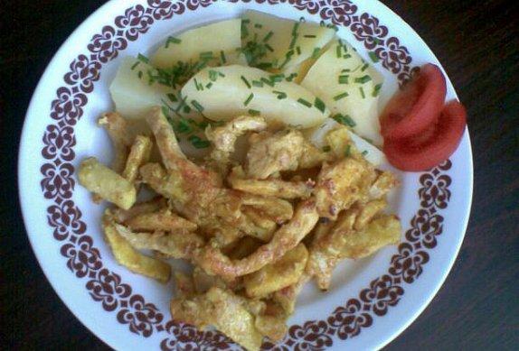 Masovo-celerové nudličky