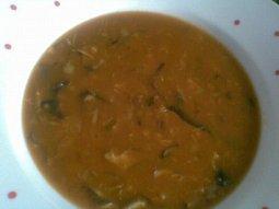 Dršťková polévka z václavek